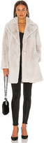 Soia & Kyo Renada Faux Fur Coat