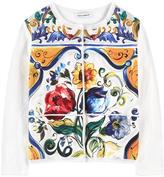Dolce & Gabbana Graphic cardigan Maiolica
