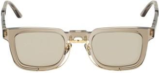 Kuboraum Berlin N4 Double Frame Squared Sunglasses