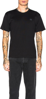 Acne Studios Nash Face Tee in Black | FWRD