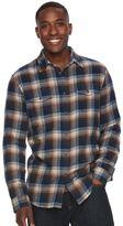 SONOMA Goods for Life Men's SONOMA Goods for LifeTM Plaid Flannel Button-Down Shirt