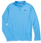 Under Armour Boy's Threadborne(TM) Long Sleeve Polo