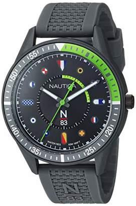 Nautica N83 Men's NAPSPS902 Surf Park Silicone Strap Watch