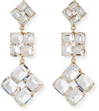 clear Rebekah Price Ravenna Drop Earrings,