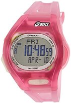 Asics Women's CQAR0804 Pink Night Run Digital Watch