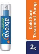 Abreva Cold Sore Treatment Lip Balm Pump, 2gm
