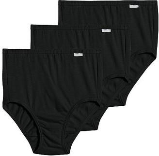 Jockey Plus Size Elance Brief 3-Pack