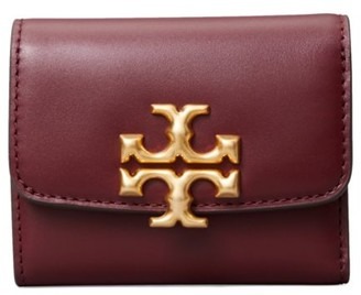 Tory Burch Eleanor Compact Leather Wallet
