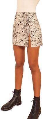 Reformation Margot Miniskirt