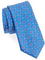 Nordstrom Men's Big & Tall Neat Medallion Silk Tie