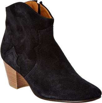 Isabel Marant Dicker Suede Ankle Boot