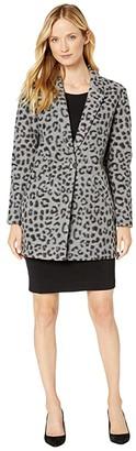 MICHAEL Michael Kors Brushed Jacquard Cheetah Coat