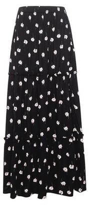 Dorothy Perkins Womens Black Floral Print Maxi Skirt, Black
