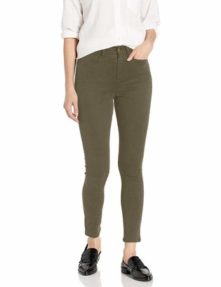 Daily Ritual Amazon Brand Women's Sateen High-Rise Skinny Ankle Pant