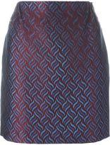 Golden Goose Deluxe Brand jacquard mini skirt - women - Cotton/Acetate/Polyamide/Cupro - S