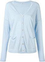 P.A.R.O.S.H. V-neck cardigan - women - Cotton/Viscose - XS