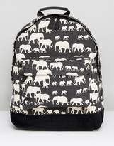 Mi-Pac Mi Pac Elephant Print Backpack