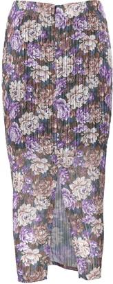 Birgitte Herskind Alexis Ruched Floral Midi Skirt