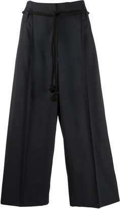 Odeeh Cropped Palazzo Trousers