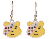 George Children in Need Pudsey Bear Earrings
