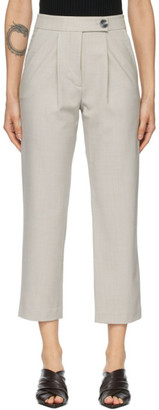ANNA QUAN Grey Cameron Trousers