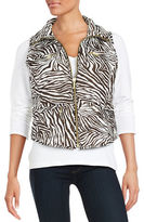 MICHAEL Michael Kors Packable Zip-Front Vest