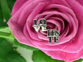 Pippa knowles jewellery Silver 'Love/ Hate' Earrings