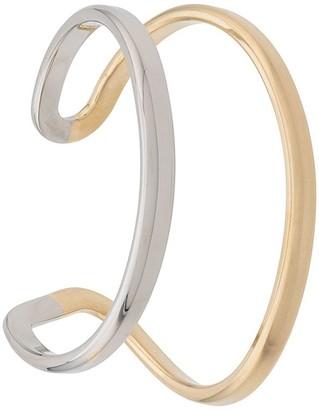 Maison Margiela curved cuff