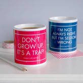 Modo creative Personalised Motto Mug