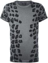 Diesel animal print T-shirt