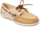 Sperry Women's Koifish Stripe Leather Boat Shoe