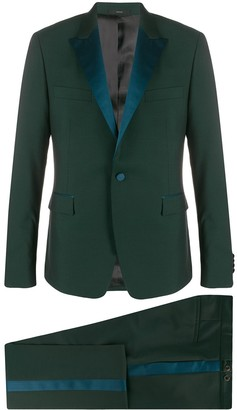 Paul Smith Contrast Panelled Dinner Suit