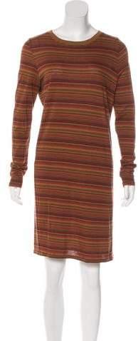 Billy Reid Striped Long Sleeve Dress