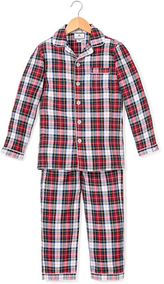 Petite Plume Festive Tartan Pajama Set, 6M-14