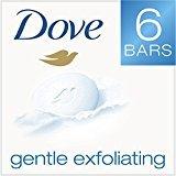 Dove Beauty Bar, Gentle Exfoliating 4 Ounces, 6 Bar