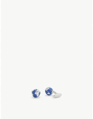 Paul Smith Globe enamel cufflinks