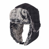 Dockers Charcoal Black Trapper Hat