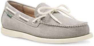 Eastland Yarmouth Canvas Topstitched Moc Toe Loafer