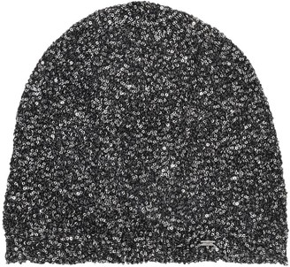 Saint Laurent Sequined Bonnet Hat
