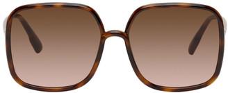 Christian Dior Brown Tortoiseshell SoStellaire1 Sunglasses