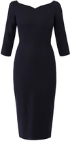 Goat Drew Wool Crepe Pencil Dress