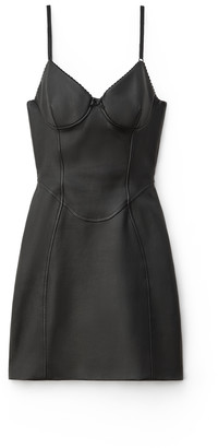 Collection Stretch Leather Dress