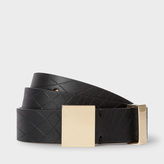 Paul Smith No.9 - Women's Black Leather Belt