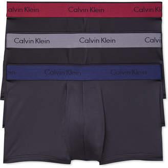 Calvin Klein Men Microfiber Stretch Trunk 3-Pack