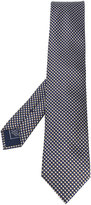 Brioni micro geometric pattern tie - men - Silk - One Size