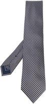 Brioni micro geometric pattern tie - men - Silk - One Size