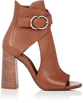 Chloé Women's Millie Cutout Leather Ankle Booties