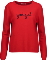 Chinti and Parker Good Girl intarsia cashmere sweater