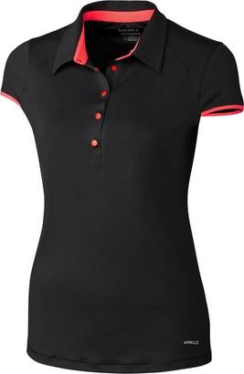Cutter & Buck Women's Moisture Wicking UPF 50+ Cap-Sleeve Brighton Polo Shirt