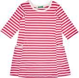 Benetton Girls Bretton Stripe Dress